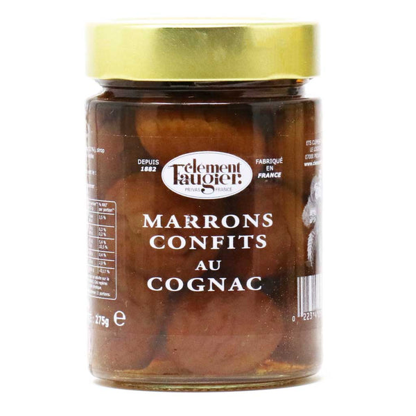 Clement Faugier - Candied Chestnuts in Cognac, 15.1oz