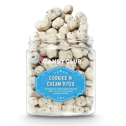 Candy Club Cookies 'N Cream Bites, 6oz