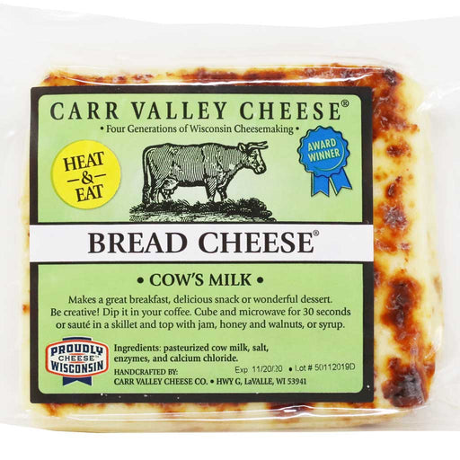 Carr Valley - Bread Cheese, 10oz
