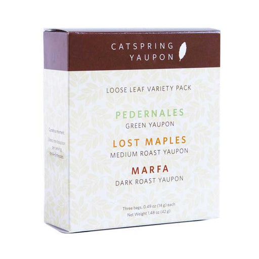 CatSpring Yaupon Tea - Loose Leaf Variety Pack