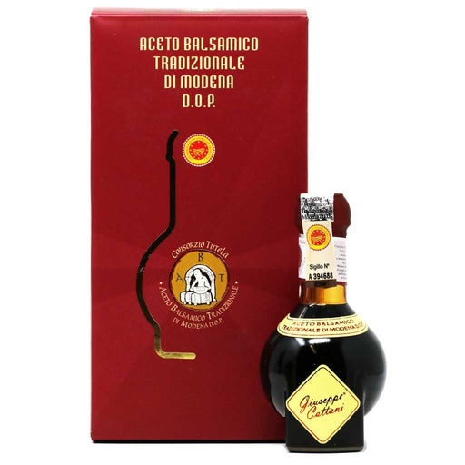 Acetaia Cattani - Traditional Balsamic Vinegar from Modena DOP, Vecchio (12 Years), 100ml