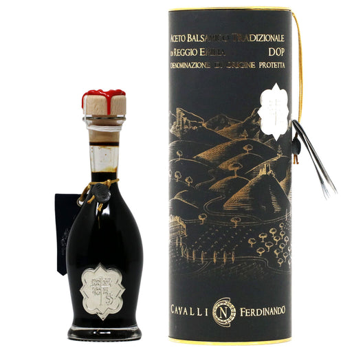 Cavalli - Traditional Balsamic Vinegar, At Least 12 Years, Silver Seal, 100ml