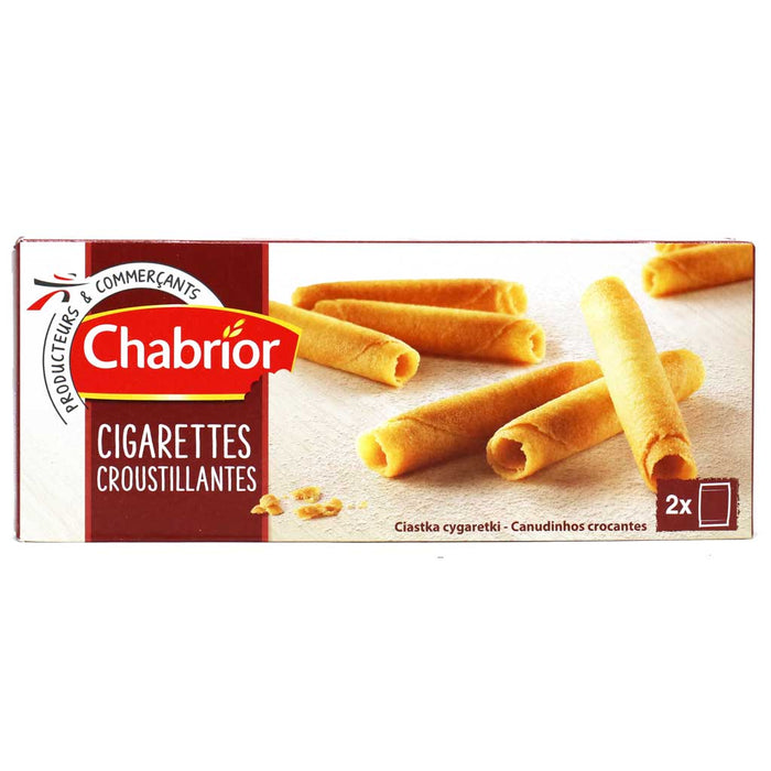 "Chabrior - Rolled ""Cigarette"" Shaped Cookies, 200g (7oz) Box"