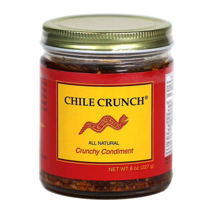 Chile Crunch-Chile & Garlic Condiment-myPanier