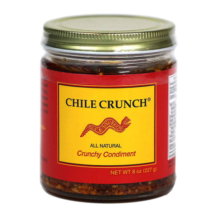 Chile Crunch - Chile & Garlic Condiment, 8 oz (227g) Jar