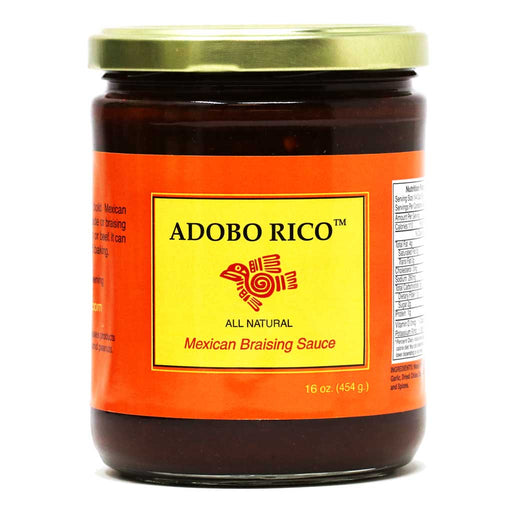 Chile Crunch - Adobo Rico Mexican Chile Braising Sauce, 16oz