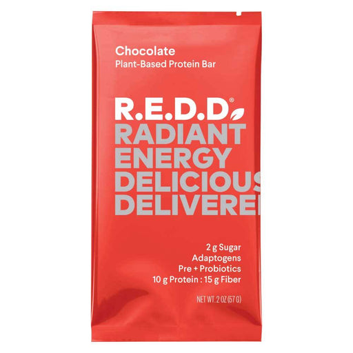 R.E.D.D Chocolate Plant-Based Protein Bar 1