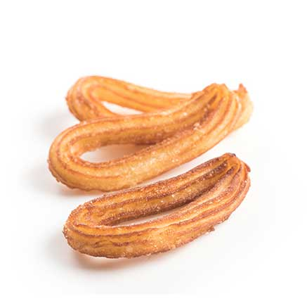 White Toque - Traditional Churro Loop, 1.1lb **Ready to Fry**