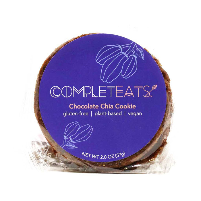 Completeats - Vegan & Plant-Based Cookie, Chocolate Chia, 2oz
