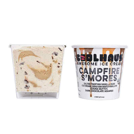 Coolhaus - Campfire S'mores Ice Cream, 1 Pint