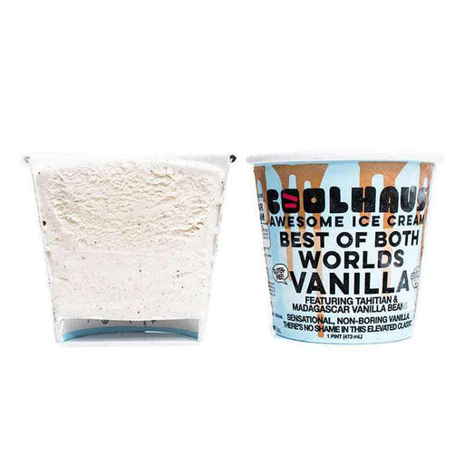 Coolhaus - Best of Both Worlds Vanilla Ice Cream, 1 Pint