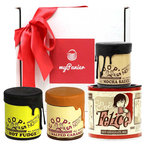 Coop's Collection - Dessert Sauce & Cocoa Gift Set