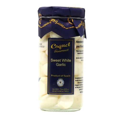 Coquet - Sweet White Garlic Cloves, 8.7oz