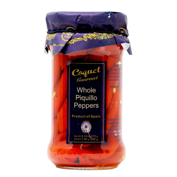 Coquet - Whole Piquillo Peppers, 9.52oz
