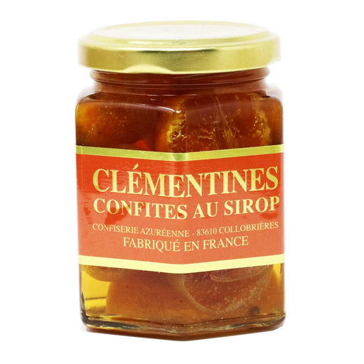 Corsiglia Candied Clementines in Syrup, Jar 150g