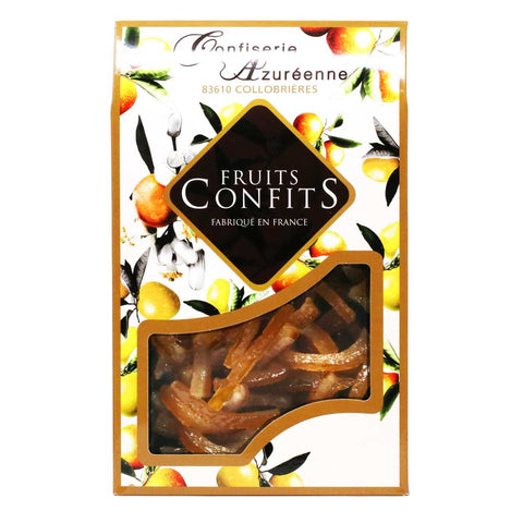 Corsiglia - Candied and Drained Lemon Slivers, 200g