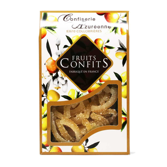 Corsiglia - Candied and Sugared Lemon Slivers, 200g