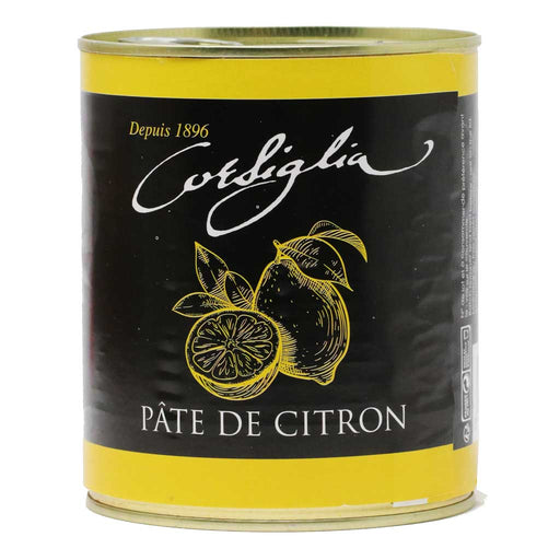 Corsiglia - Lemon Paste, 1kg (2.2lb) Can