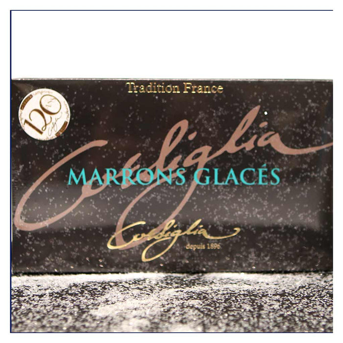 Corsiglia - Artisan Candied Chestnut (Marrons Glaces), 8 pc