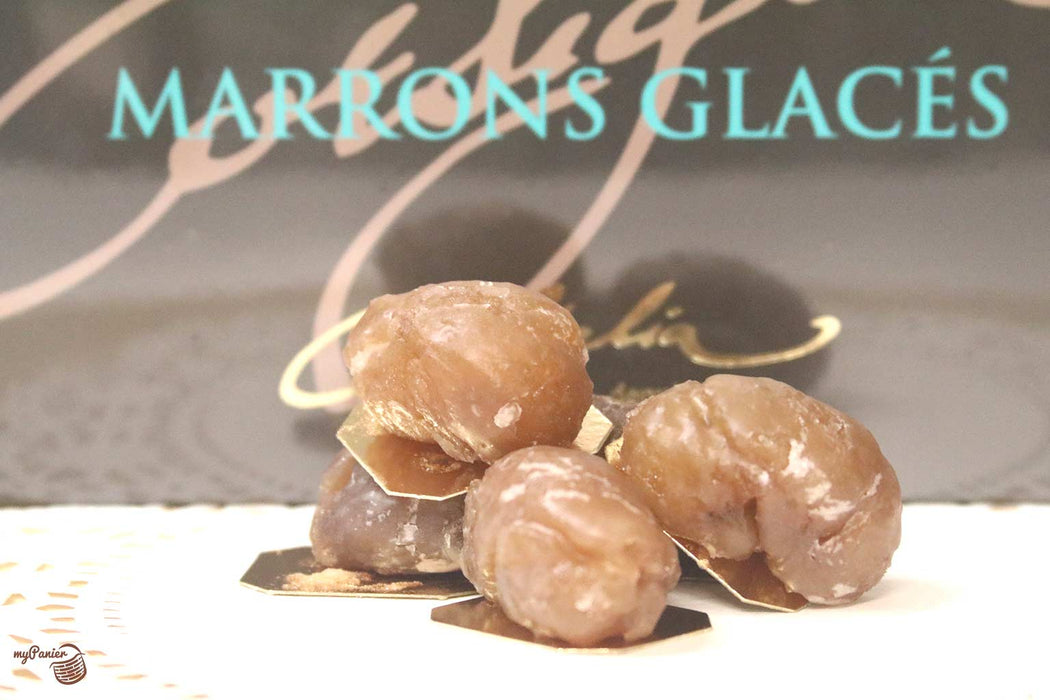 Corsiglia - Artisan Candied Chestnut (Marrons Glaces), 8 pc 160g