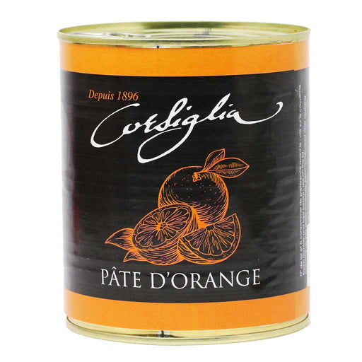 Corsiglia - Orange Paste, 1kg (2.2lb) Can