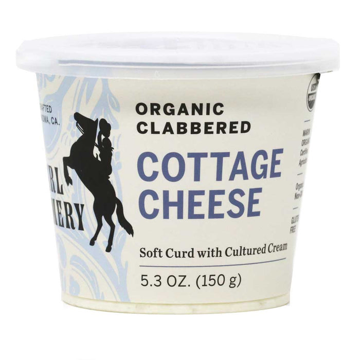 Cowgirl Creamery Organic Clabbered Cottage Cheese, 5.3oz