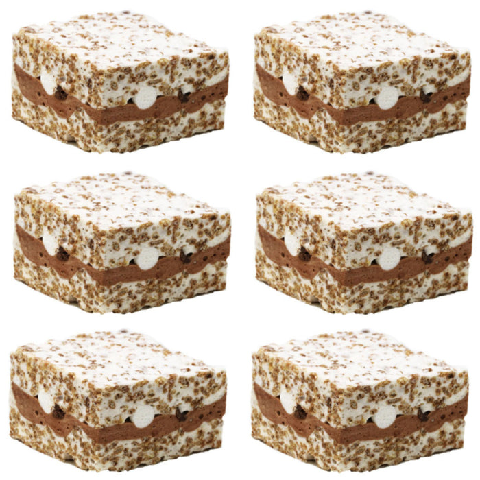 The Crispery - Cocoa Concoction Handmade Marshmallow Rice Crispy Treats, 6oz