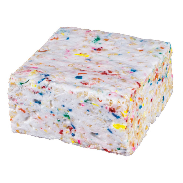 The Crispery - Confetti Handmade Marshmallow Rice Crispy Treats, 6oz