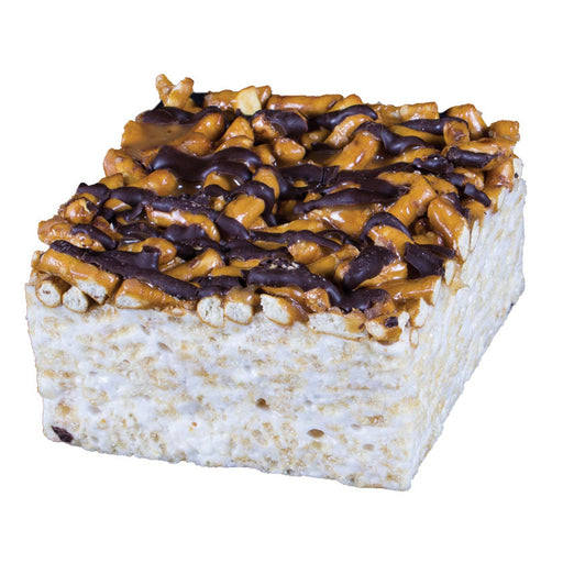 The Crispery - Pretzel Surprise Handmade Marshmallow Rice Crispy Treats, 6oz