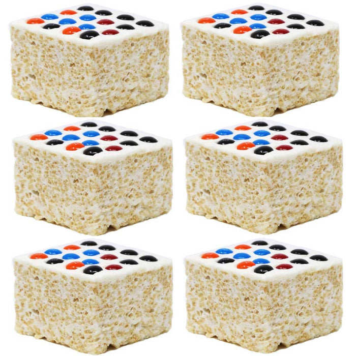 The Crispery - Candy Buttons Handmade Marshmallow Rice Crispy Treats, 6oz