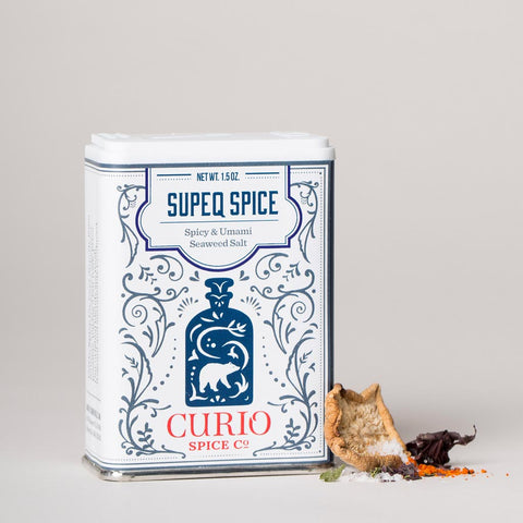 Curio - Supeq Spice - Spicy & Umami Seaweed Salt, 1.5oz