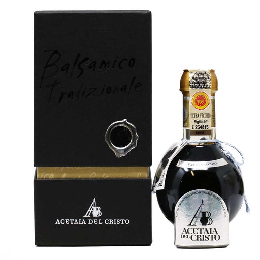 Del Cristo - Traditional Extra Vecchio Black Diamond Aged Balsamic Vinegar, 50 Years, 100ml