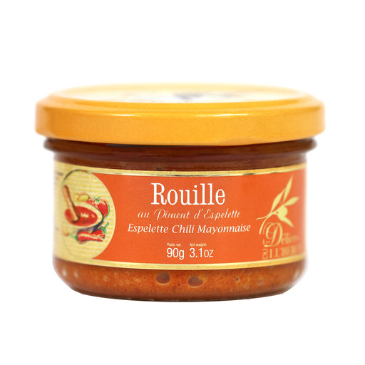 Delices du Luberon - Rouille Sauce with Espelette Pepper, 90g Jar