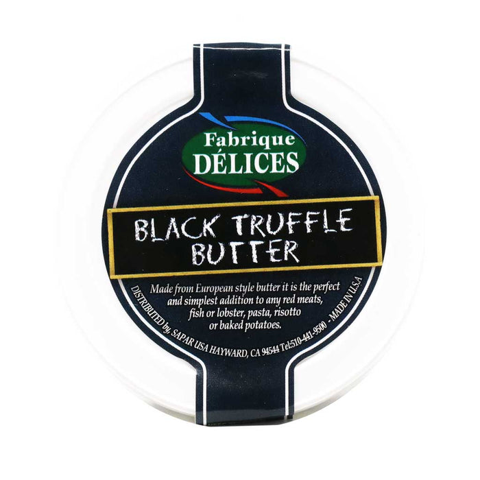 All Natural Black Winter Truffle Butter, 3oz Tub (one Tub)