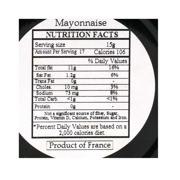 Delouis - French Mayonnaise, 8.8oz Jar