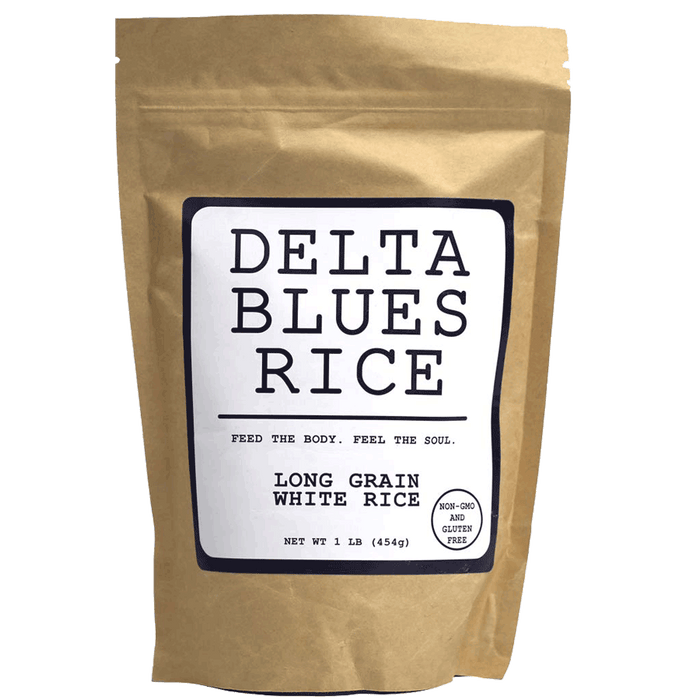 Delta Blues Long Grain White Rice, 1lb