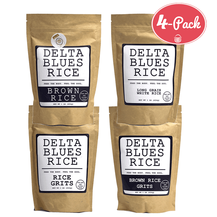 Delta Blues Rice Combo Pack, 4-lb