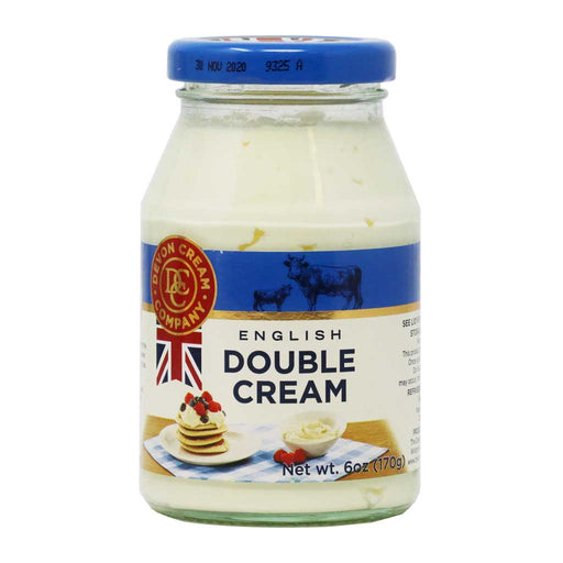 Devon Cream Company - English Double Cream, 6oz (170g)