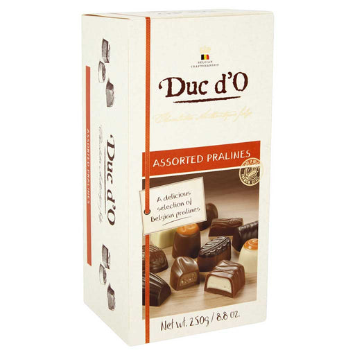 Duc d'O - Assorted Pralines, 8.8oz (250g) Box