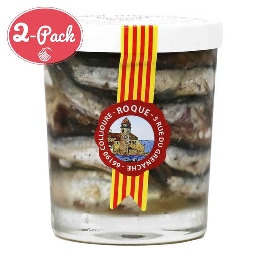 Roque - Anchovies in Salt, 3.9oz (2-PACK)