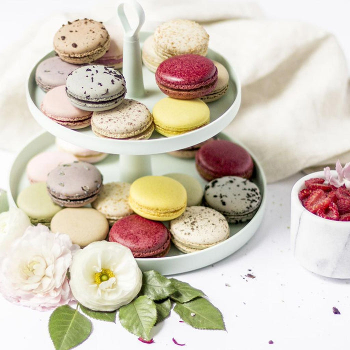 Duverger - All-Natural French Macarons, Degustation Gift Box of 12