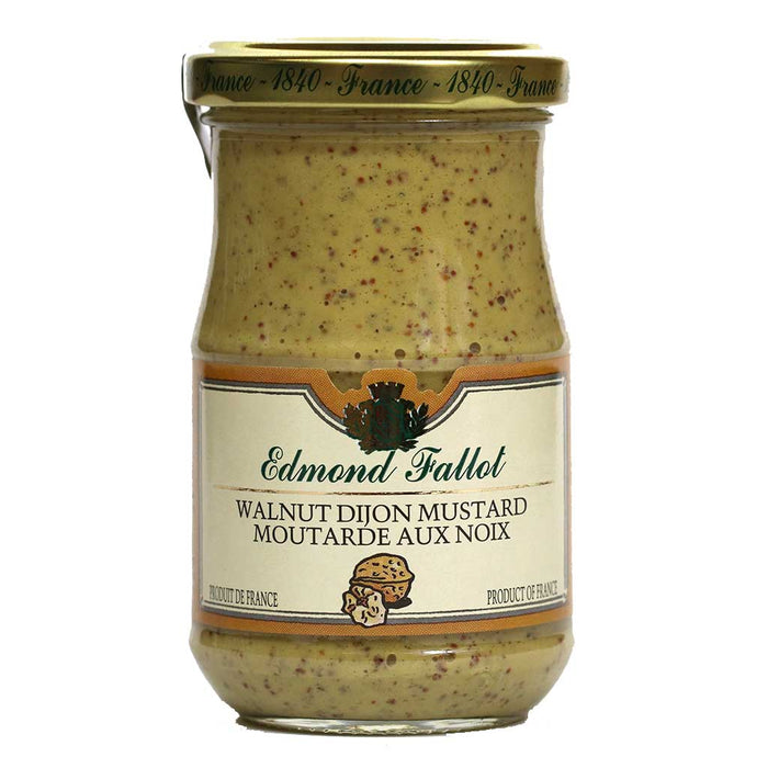 Edmond Fallot - Dijon Mustard Walnut, 7.4oz Jar