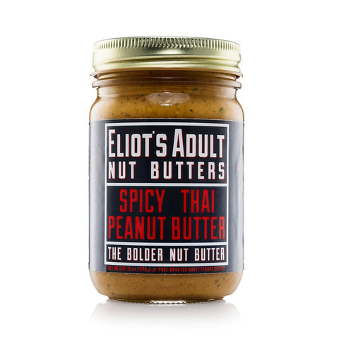 Eliot's Adult Nut Butters - Spicy Thai Peanut Butter, 12oz