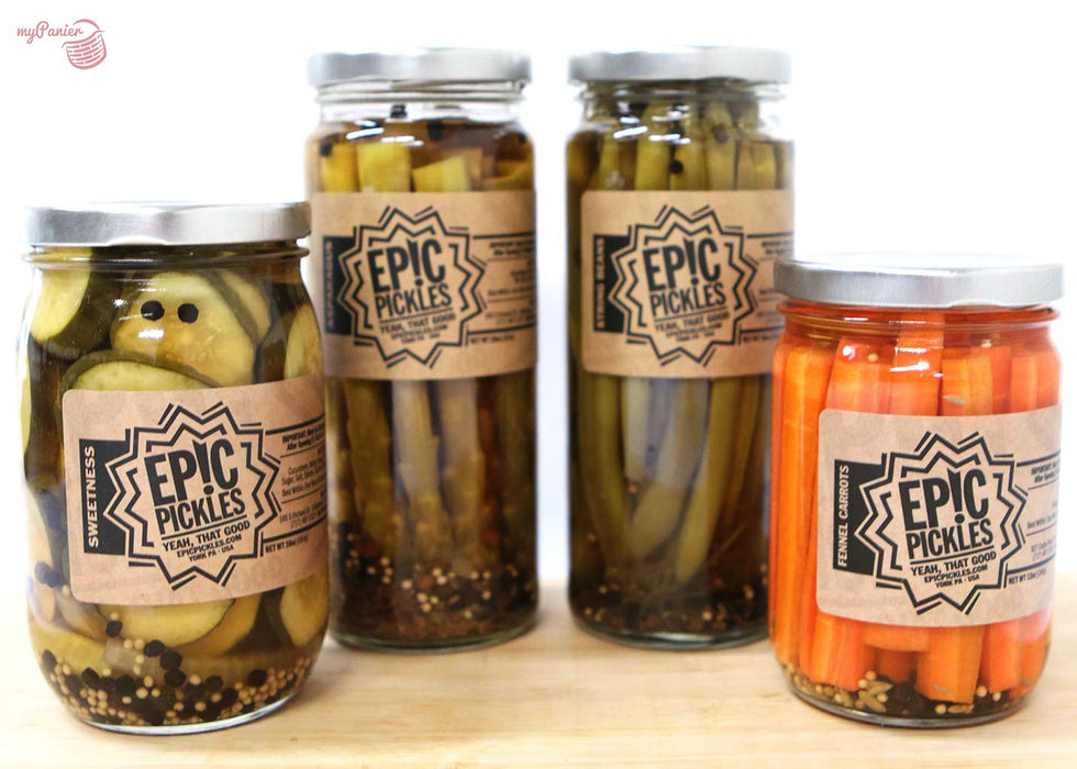 Epic Pickles - Sweet Pickles Chips, 16oz