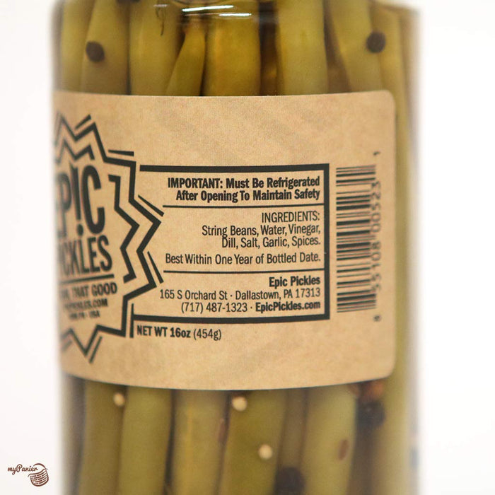 Epic Pickles - String Beans Dills, 16oz