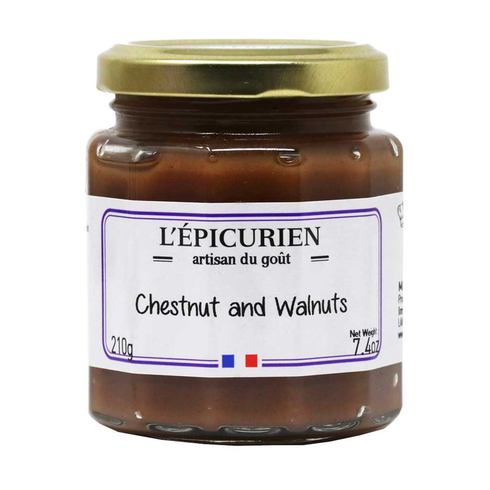 L'Epicurien - Chestnut & Walnut Cream, 7.4oz (210g) Jar