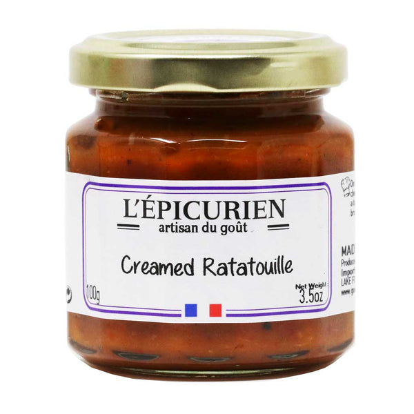 L'Epicurien - Ratatouille Cream, 3.5oz (100g) Jar