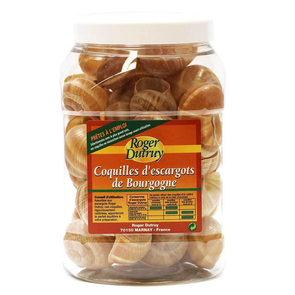 Roger Dutruy - Extra Large Escargot Shells, 3 Dozen
