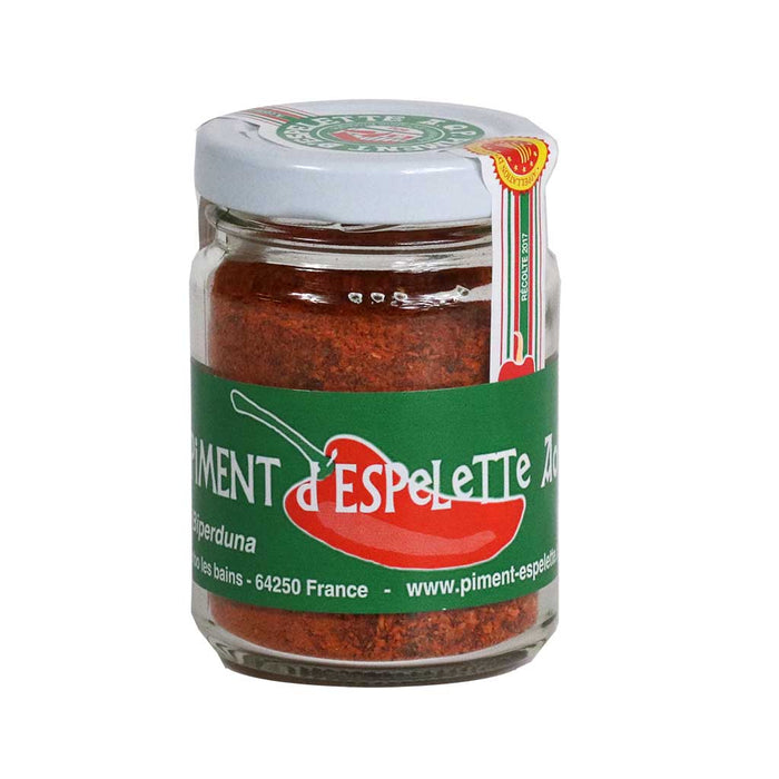 Biperduna - Organic Espelette Pepper Powder, 40g (1.4 oz)