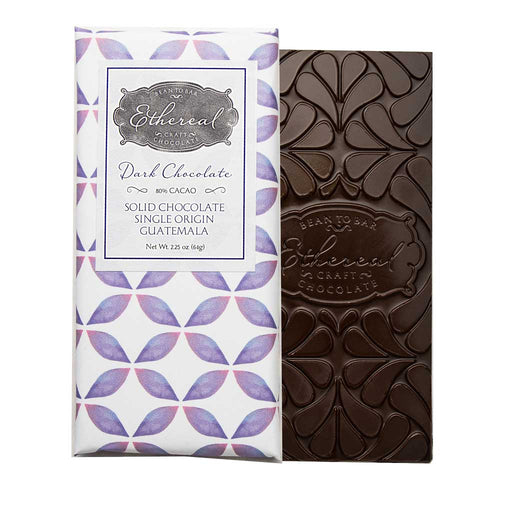 Ethereal - Guatemala 80% Single Origin Dark Chocolate Bar, 64g